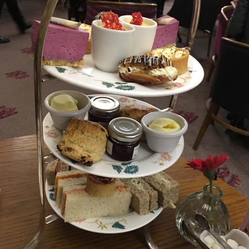 Afternoon Tea At Chatsworth House