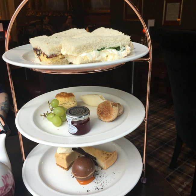 Afternoon Tea At Castle Hotel, Conwy
