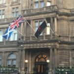 Dinner At The Balmoral Hotel, Edinburgh