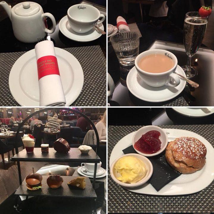 Festive Afternoon Tea At Malmaison, Birmingham