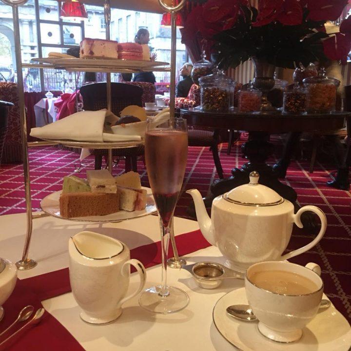 Festive Afternoon Tea At Ruben's At The Palace, London
