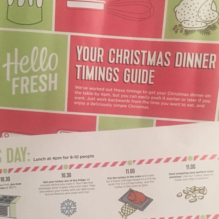 Christmas Food; Perfectly Timed Christmas Dinner